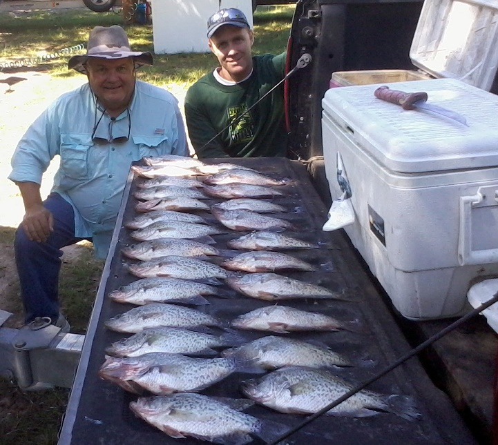 10-15-14 Redmon Keepers with BigCrappie CCL Tx
