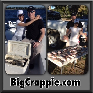 10-16-14 James Keepers with BigCrappie Guides CCL