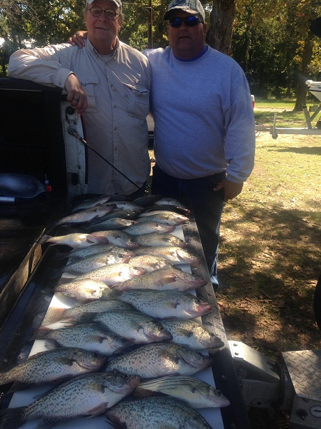 10-16-14 Stowell Keepers with BigCrappie CCL Tx