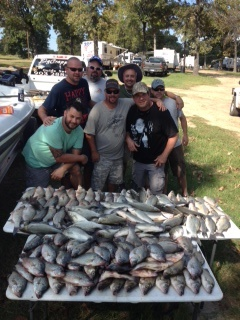 10-18-14 Sweeney Keepers with BigCrappie Guides Tx