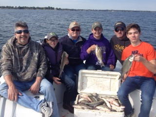 10-19-14 Swofford Keepers with BigCrappie Guides T