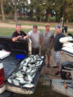 10-23-14 Ursini Keepers with BigCrappie Guides Tx