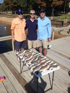 10-25-14 Riek Keepers with BigCrappie Guides Tx