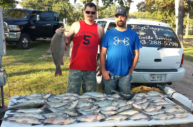 10-25-14 Tanner Keepers with BigCrappie guides CCL