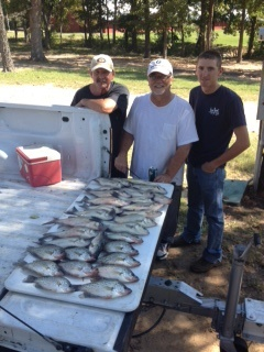 10-26-14 Hollowell Keepers with BigCrappie Guides