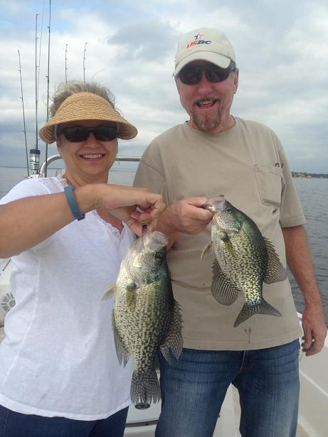 10-28-14 Coleman Crappie with BigCrappie guides Tx