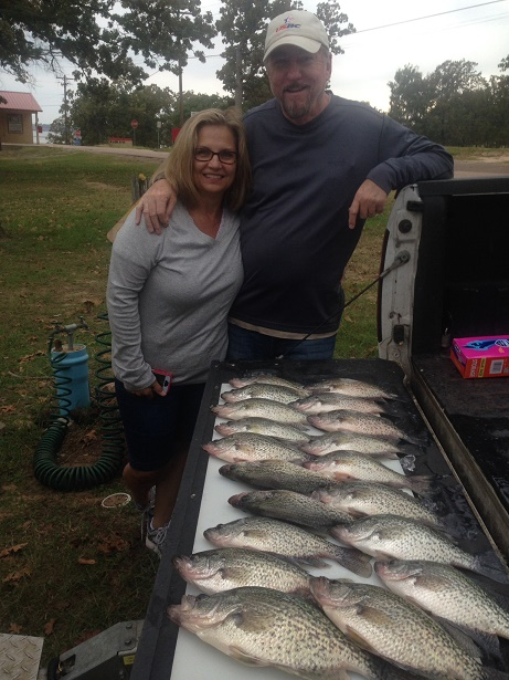 10-28-14 Kennett Keepers with BigCrappie guides Tx
