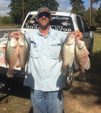 Chris Crappie Catch