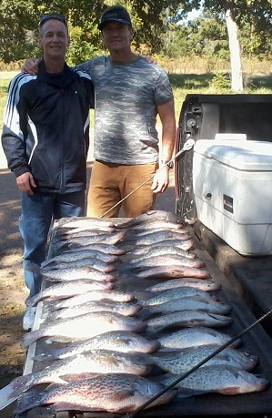 10-30-14 Gober Keepers with BigCrappie Guides TX