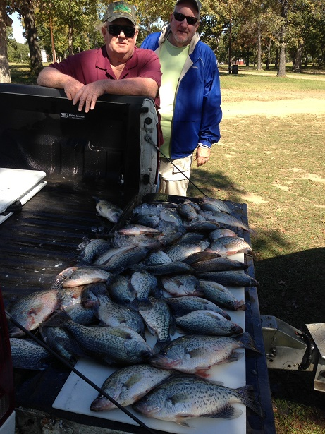 10-30-14 Walker Keepers with BigCrappie guides ccl