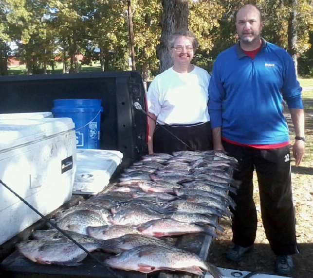 11-07-14 Muschalek Keepers with BigCrappie CCL TX