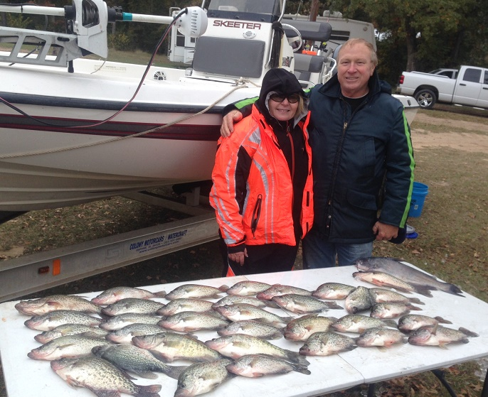 11-15-14 Quick Keepers with BigCrappie Guides Tx