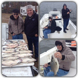 12-26-14 Dammon with BigCrappie Guides on CCL Tx