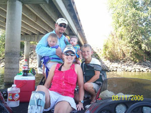 Rollins Family Fishing