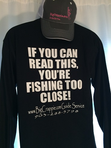 Long Sleeve Black Back BigCrappie