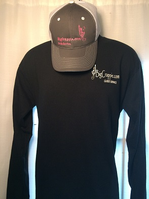 Long Sleeve Black Front Bigcrappie