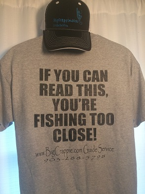 Short Sleeve Gray Back Bigcrappie