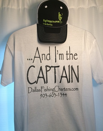 Short Sleeve White Back DallasFishingCharters