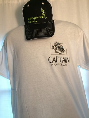 Short Sleeve White Front DallasFishingCharters