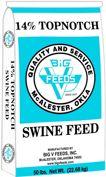 Topnotch Swine Pellets