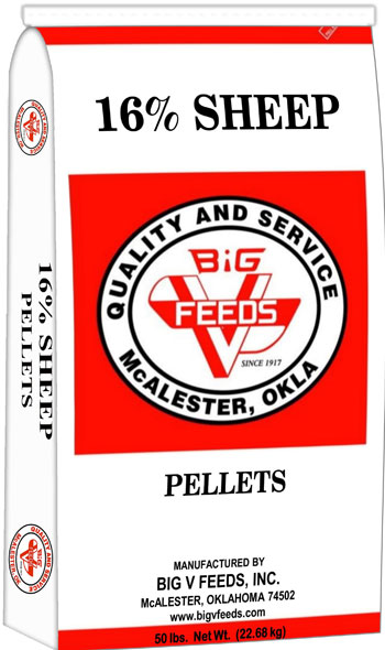16% Sheep Pellets (Medicated)