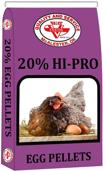 Big V 20% Hi-Pro Egg Pellets