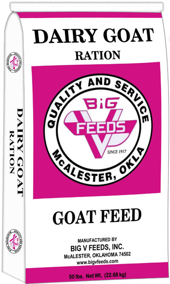Big V Dairy Goat Ration