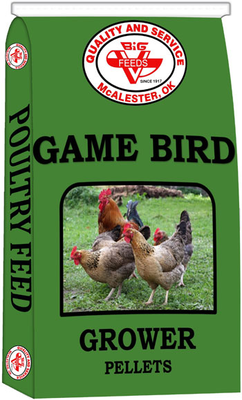 Game Bird Grower Pellets (Medicated)