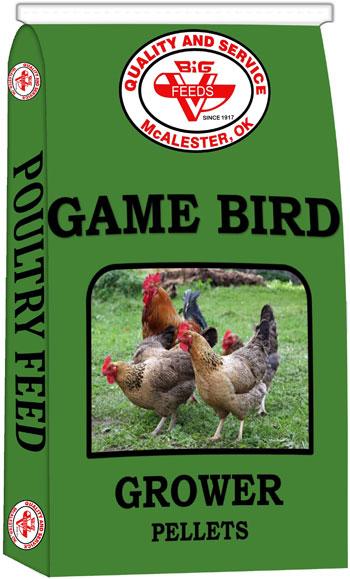Game Bird Grower Pellets (Medicated)