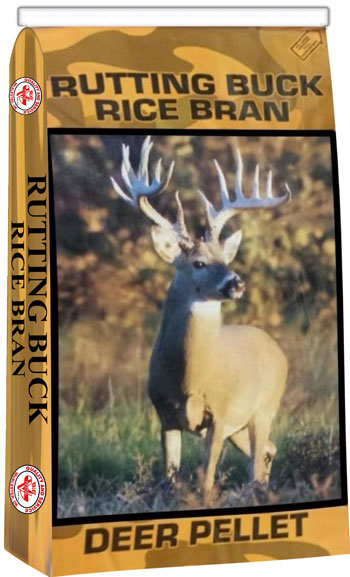 Rutting Buck Rice Bran Deer Pellet