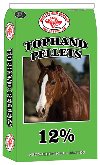 Tophand 12% Horse Pellets