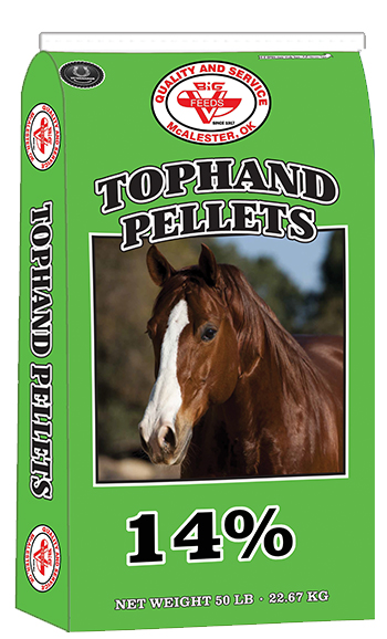 TOPHAND 14% HORSE PELLETS