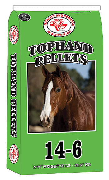 TOPHAND 14-6 HORSE PELLETS