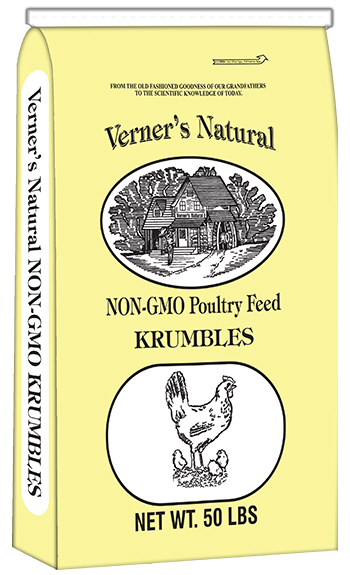 VERNER'S NATURAL NON-GMO CHICK STARTER/GROWER KRUMBLES | Big