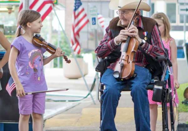The 87th Annual Athens Old Fiddlers Reunion