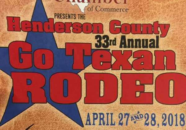 Henderson County 33rd Annual Go Texan Rodeo