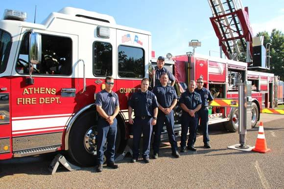 Athens TX Fire Crew