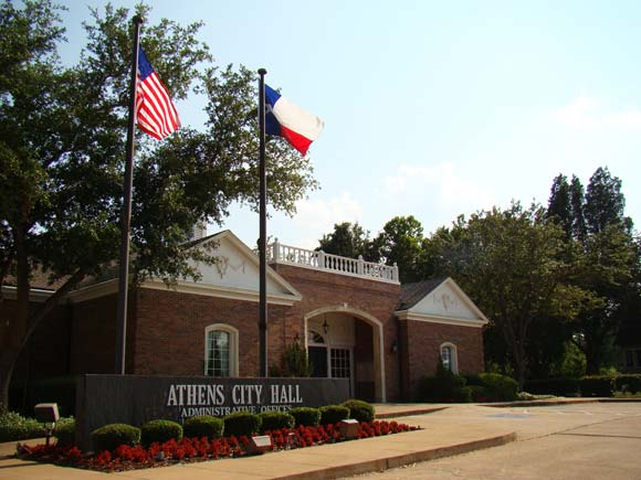 Athens TX City Hall