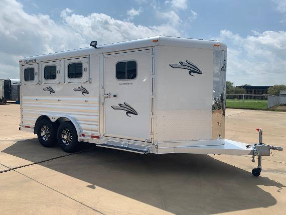 2020 Platinum 3 Horse Bumper Pull