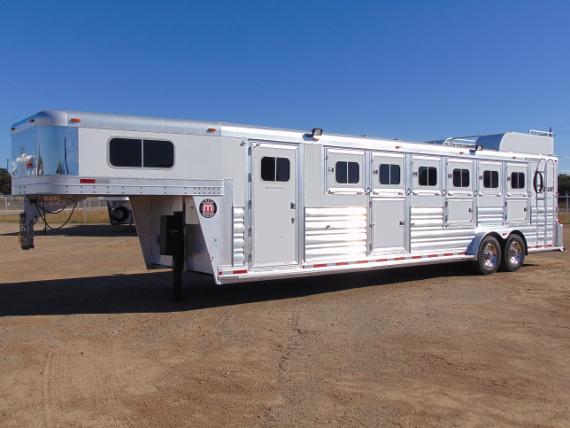 2016 Platinum 6 Horse Trailer