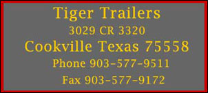 Logo Tiger Trailers