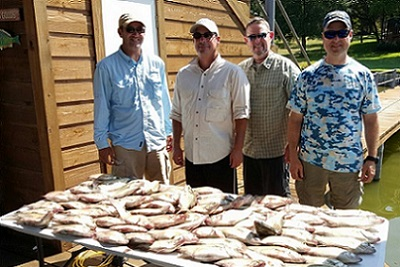 9/30/15 Cedar Creek Lake Fishing Report with DallasFishingCharters.com
