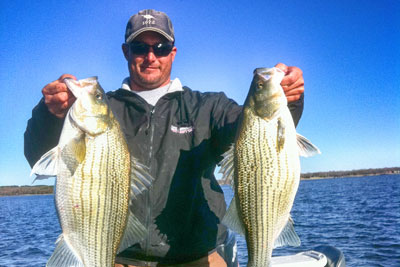 October Fishing on Cedar Creek Lake Texas with DallasFishingCharters.com & BigCrappie.com