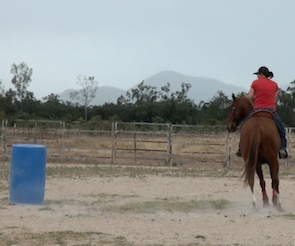 Exercises for the Barrel Horse who Shorts the Barrel