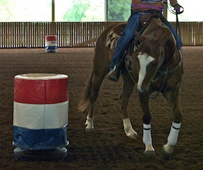 Barrel Horses: Movement of the Shoulders.