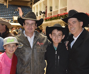 2013 NCHA Futurity World Champions Clay Johnson & Dual Smart Kitty