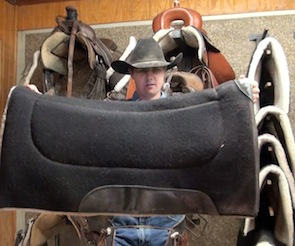 Favorite Saddle Pad: Geoffrey Sheehan