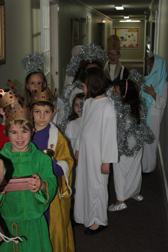 Christmas Pageant: almost ready