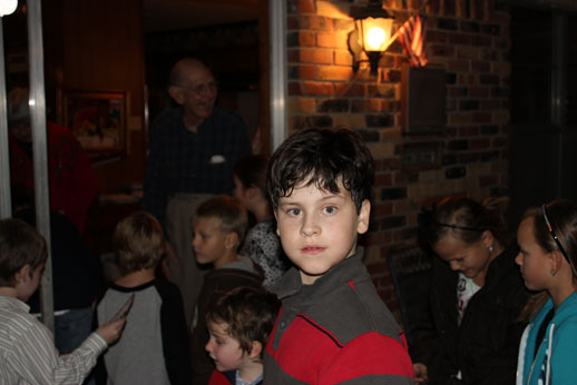 Christmas Party: caroling after the party