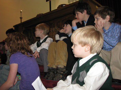 Fellowshipping with the Children